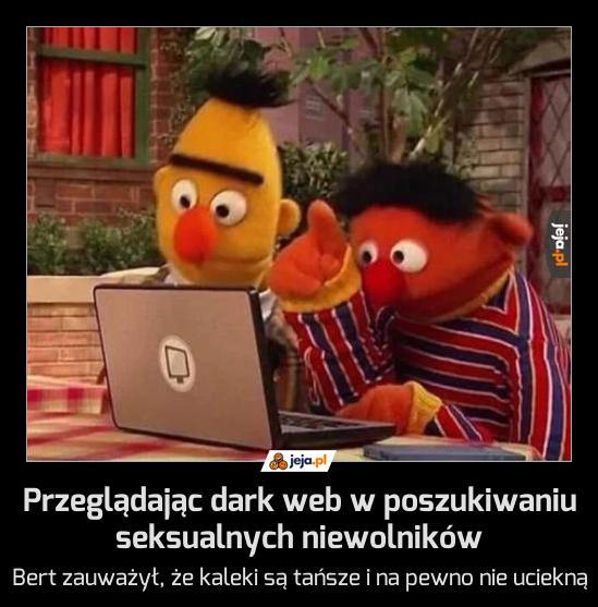 Przeglądając dark web w poszukiwaniu seksualnych niewolników
