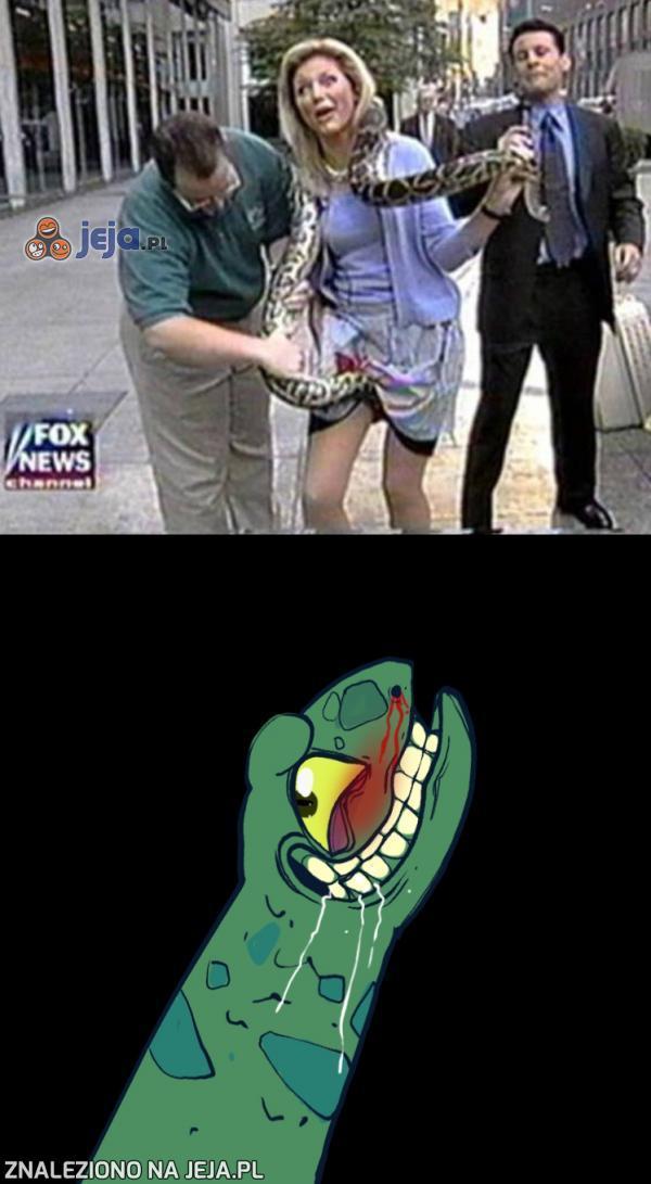 Wężu, przestań!