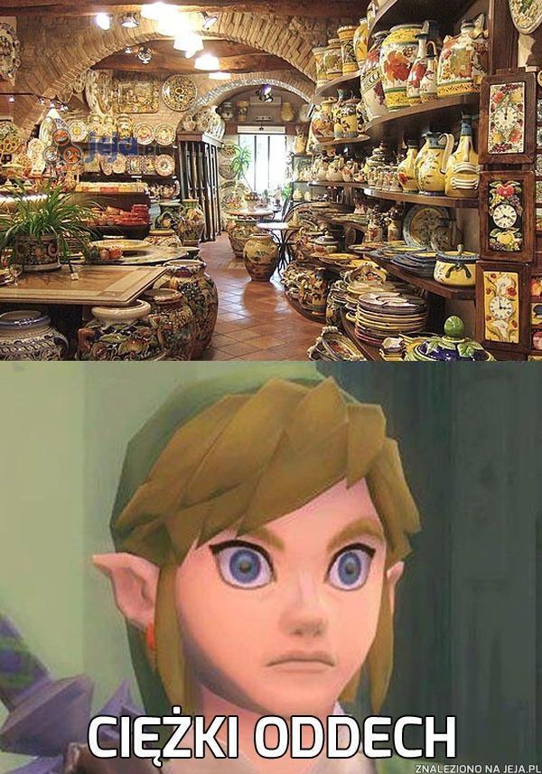Prawdziwy raj Linka