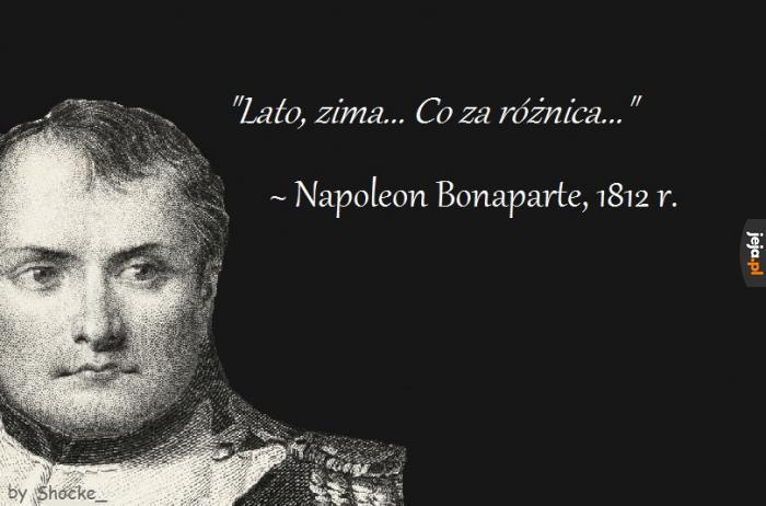 Słynny cytat Napoleona