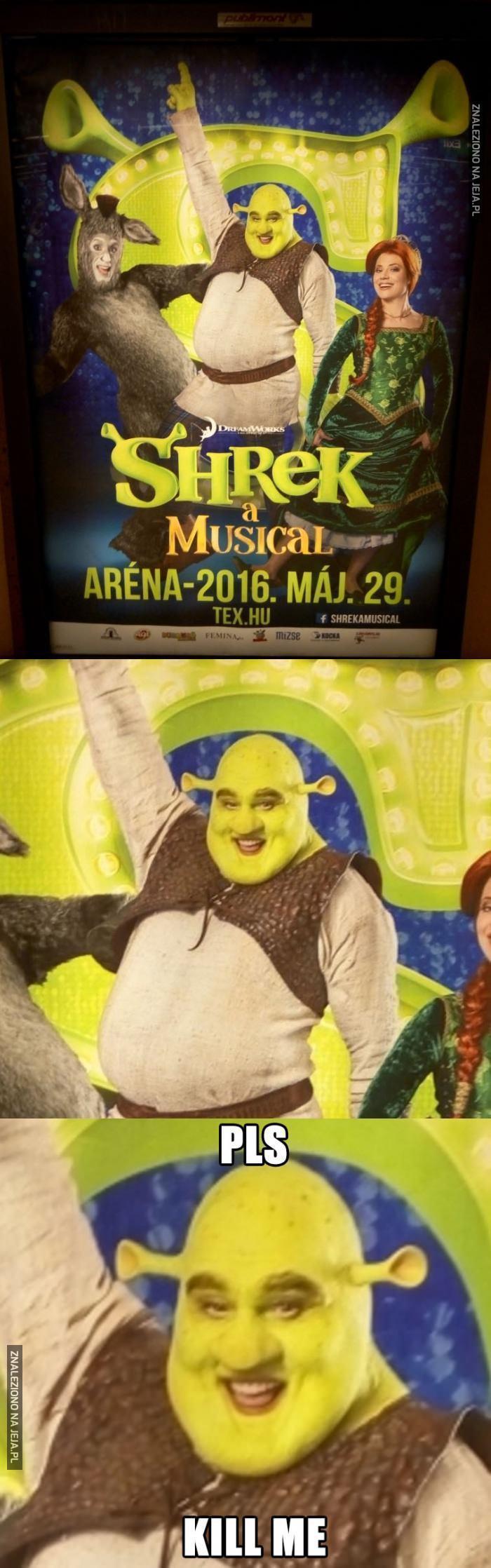 Shrek na scenie