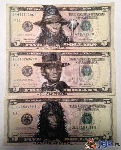Nowe podobizny na dolarach