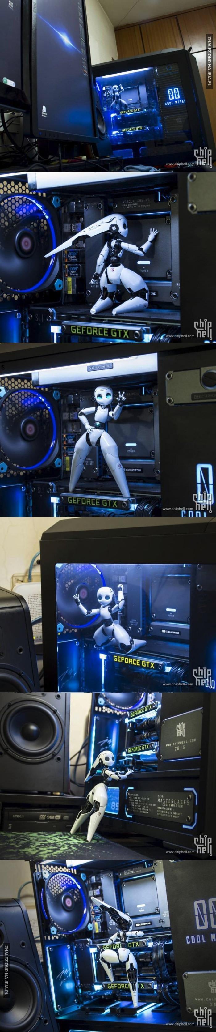 Gdyby tak zamieszkała w moim komputerze...