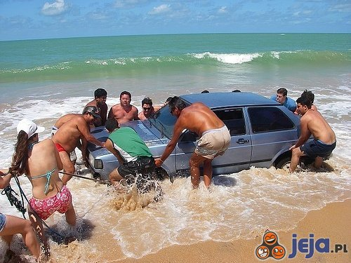 Rejs po plaży