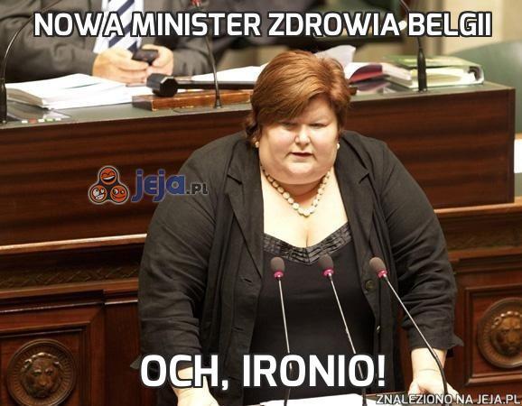 Nowa minister zdrowia Belgii