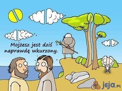 """Mojżesz """"nie w sosie"""""""