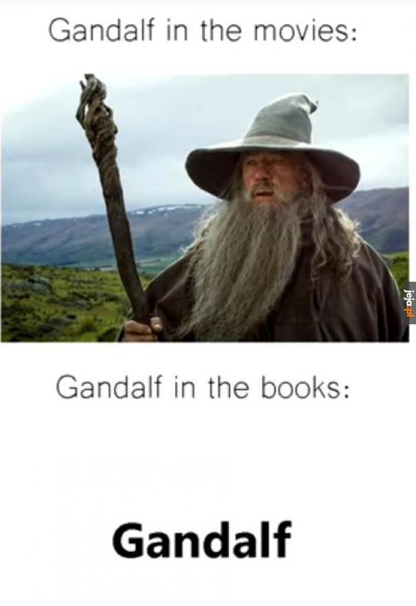 Gandalf w memach: