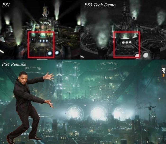 Remake Final Fantasy 7 nadchodzi!