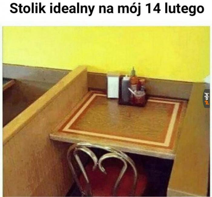 Gniazdko jest pod stolikiem