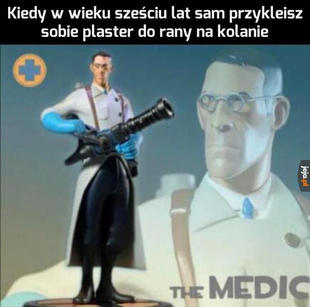 Dobry ze mnie medyk