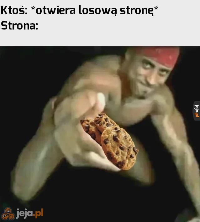 Akceptuj ciasteczka!