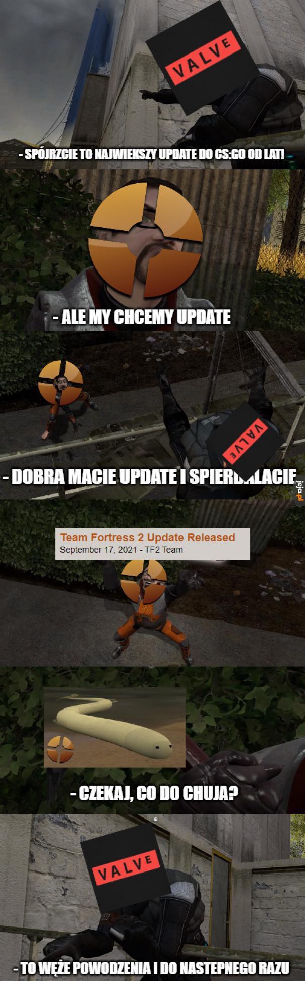 Nowy update