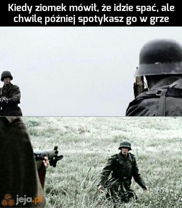 To oznacza wojnę
