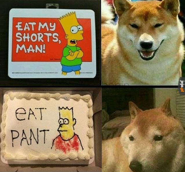 Torcik dla fana Simpsonów