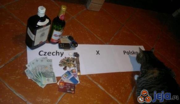Znamy wynik meczu Polska - Czechy. Nieprzekupny kot zadecydował!