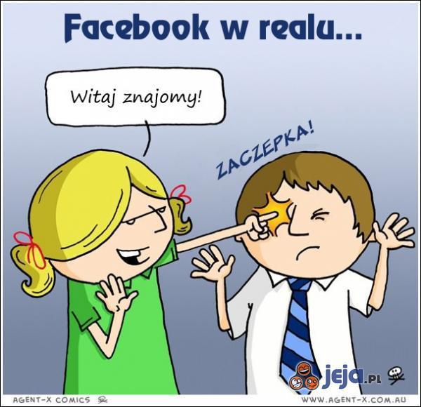 Facebook w realu