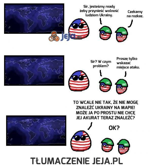 Tajemnica braku wsparcia USA