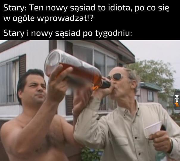 No, to pijemy za naszą przyjaźń!