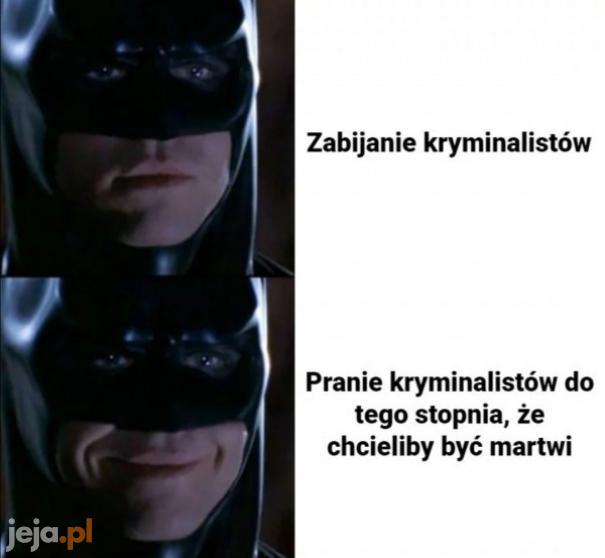 Batman ma swoje zasady
