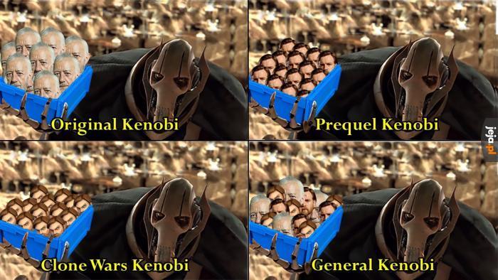 Po co witać konkretnego Kenobiego, skoro można witać wszystkich?