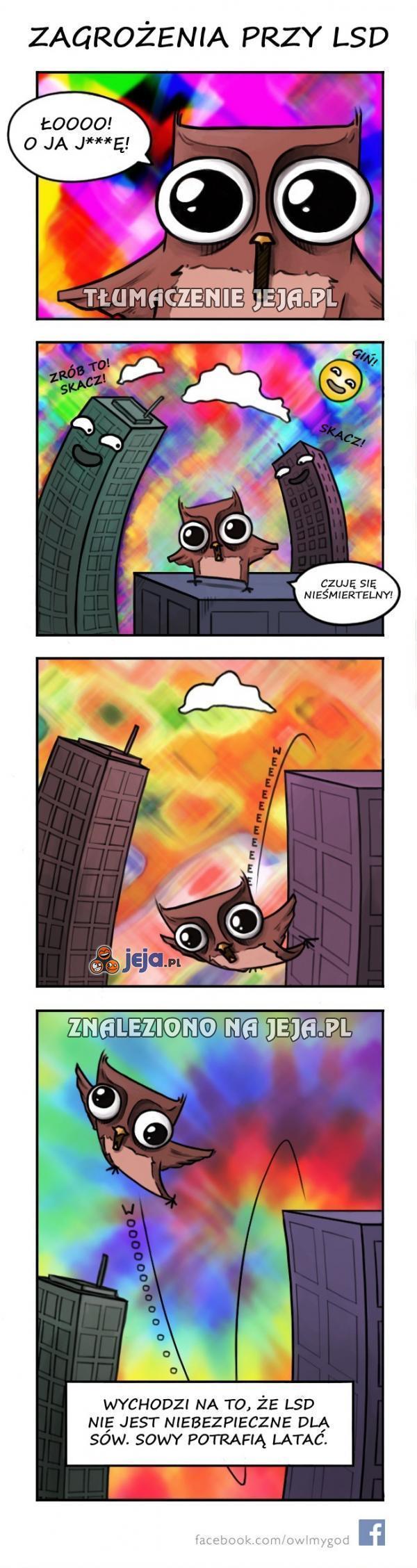 LSD jest niebezpieczne