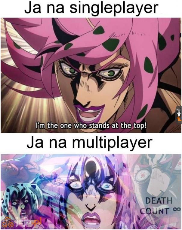 Nie jestem dobry w grze z innymi