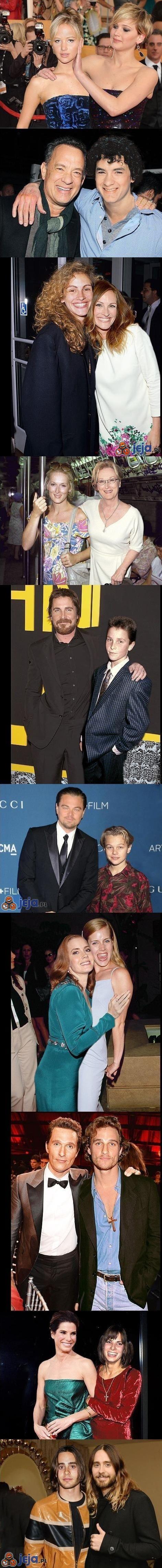 Nominowani od Oskarów i ich młodsze klony
