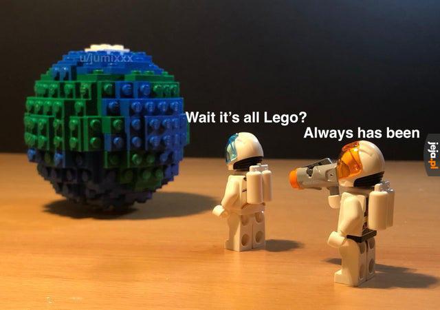To od zawsze było Lego