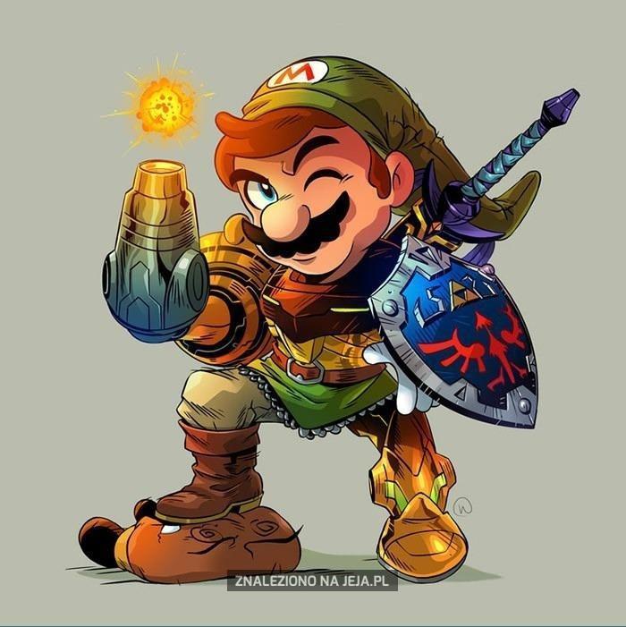 Mix bohaterów Nintendo