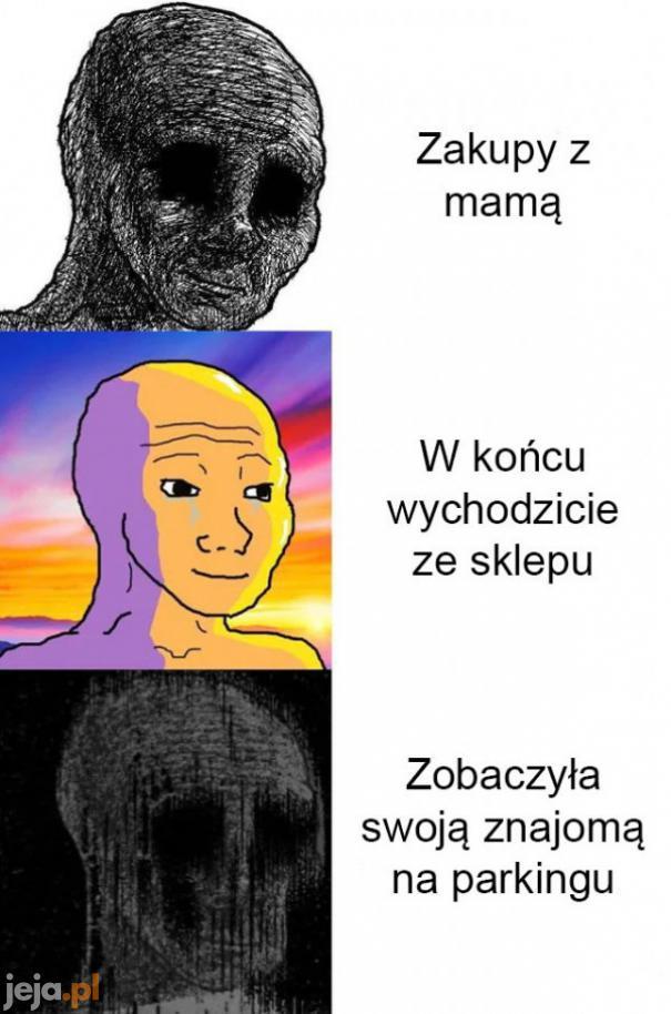 Zakupy z mamą