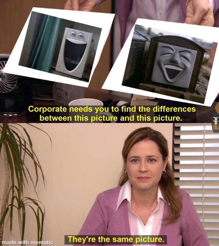 Jeszce tylko przyczepić tą mikrofalówkę na wagon i będzie 1 do 1