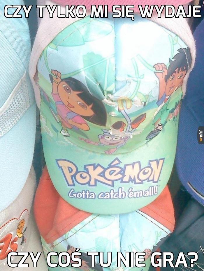 Nowe wydanie czapki pokemon