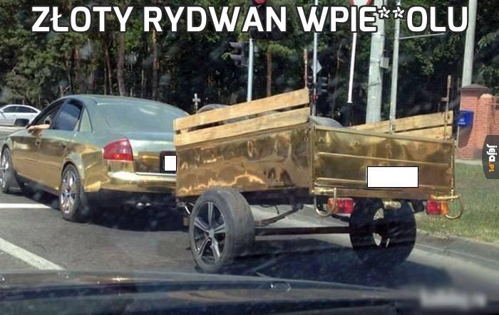 Złoty rydwan wpie**olu