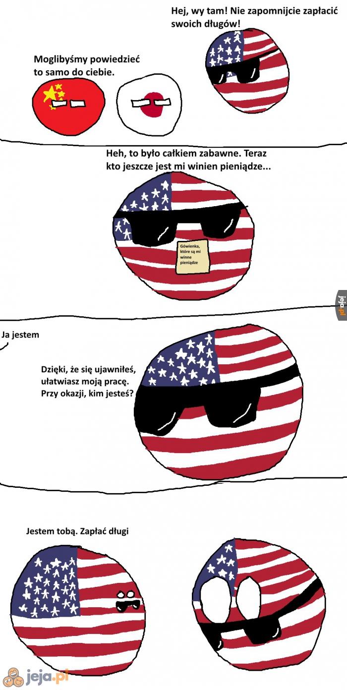Państwa winne Ameryce pieniądze