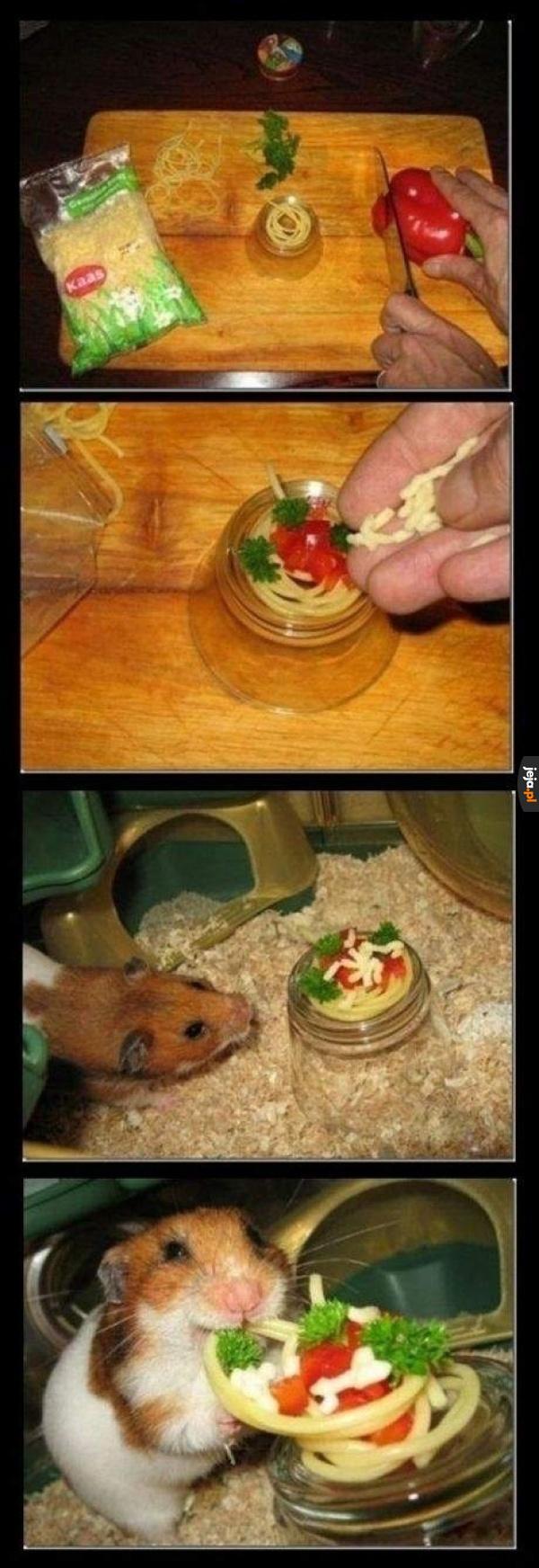 Spaghetti dla przyjaciela