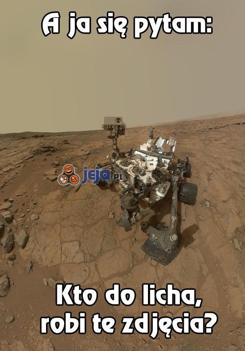 Marsjański fotograf?