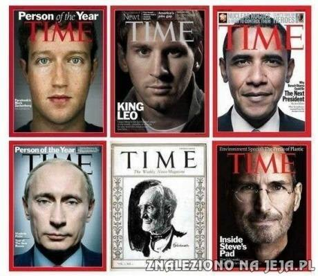 Okładka TIME, Putin przesłania wszystko