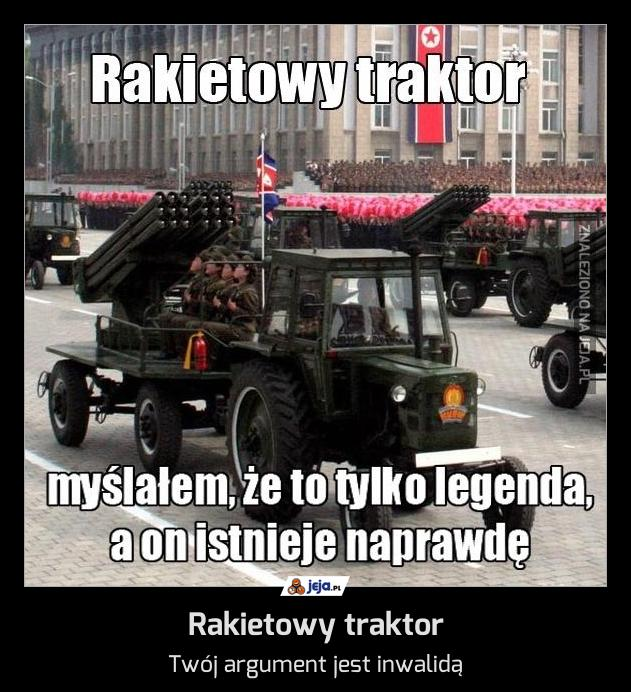 Rakietowy traktor