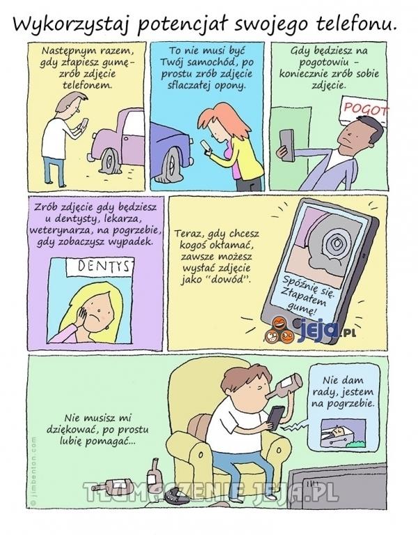 Wykorzystaj potencjał swojego telefonu