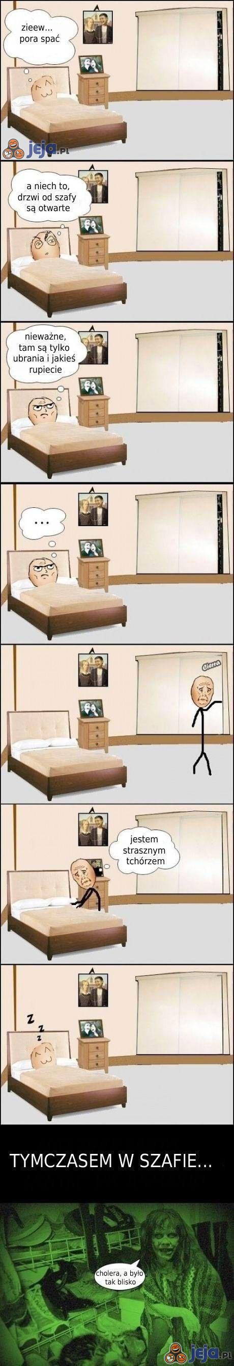 Schizy przed zaśnięciem