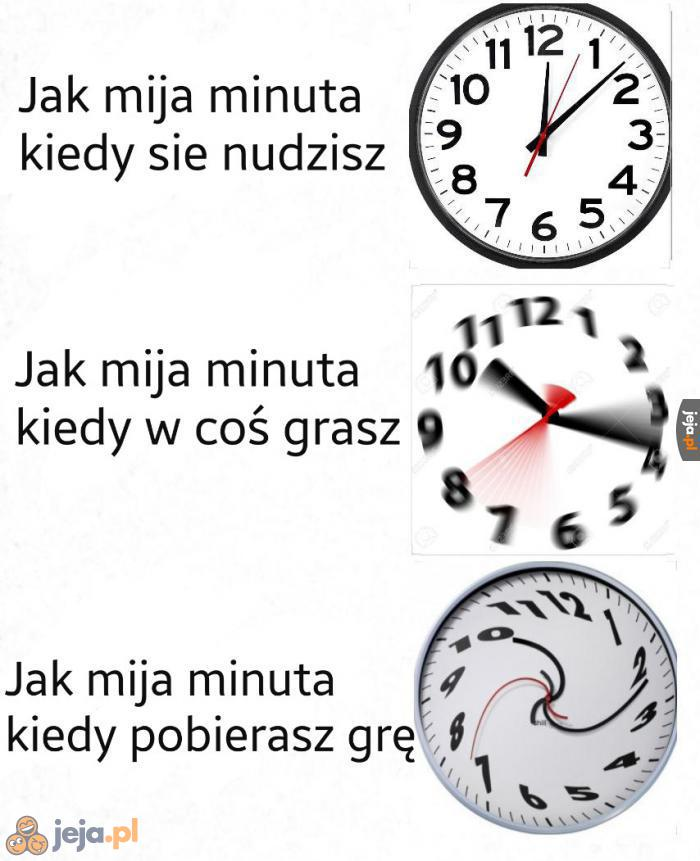 Czas to pojęcie względne