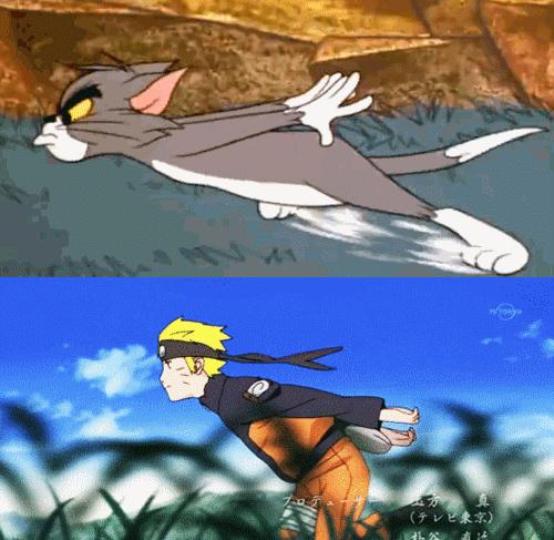 Tom to chyba największy fan anime