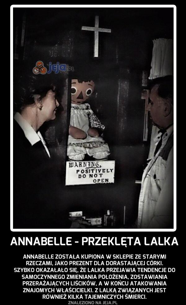 Annabelle - przeklęta lalka