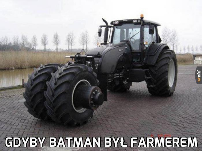 Gdyby Batman był farmerem