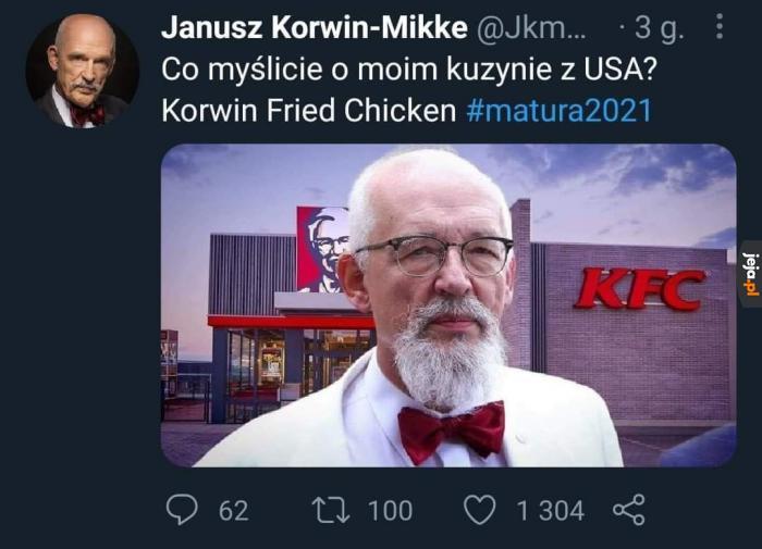 Kurczak jedynie dla konserwatywnych liberałów