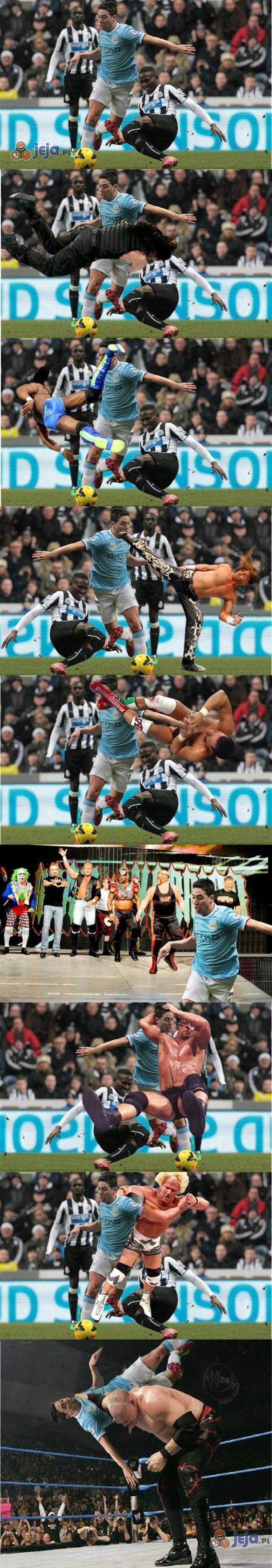 Wrestlerzy atakują!