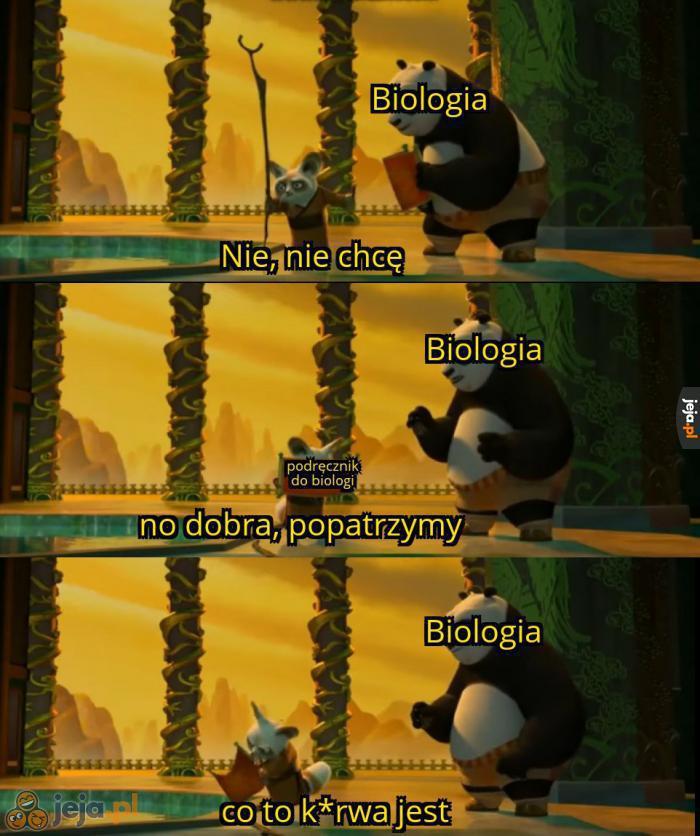 Biologa rozszerzona taka jest