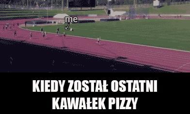 Kiedy zostaje ostatni kawałek pizzy
