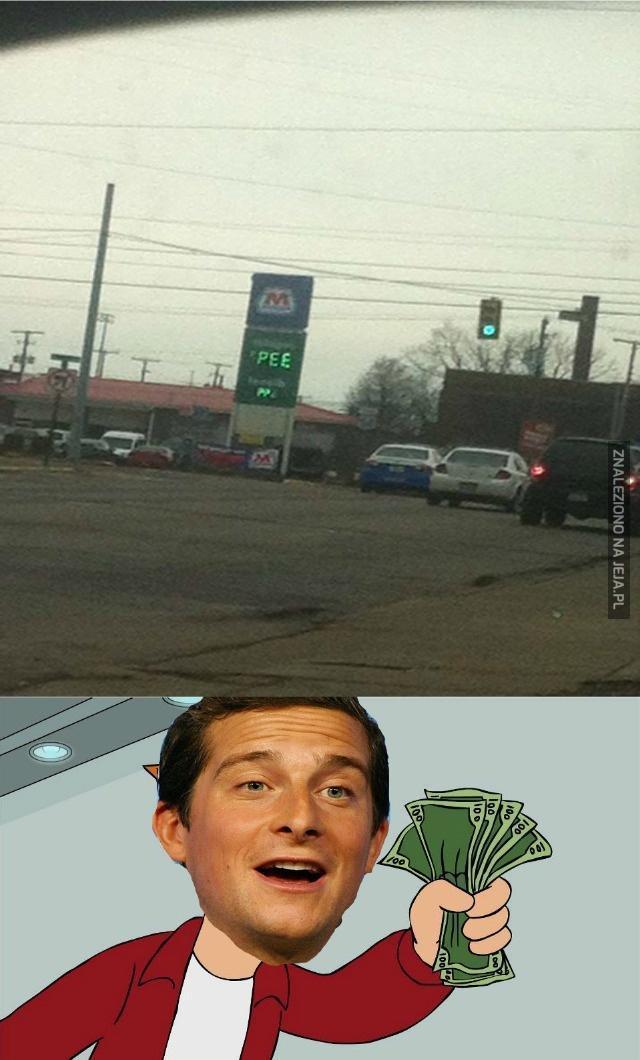 Benzyna dla Beara Gryllsa