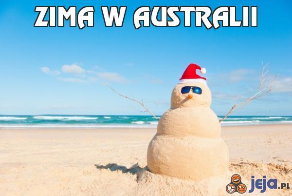 Zima w Australii